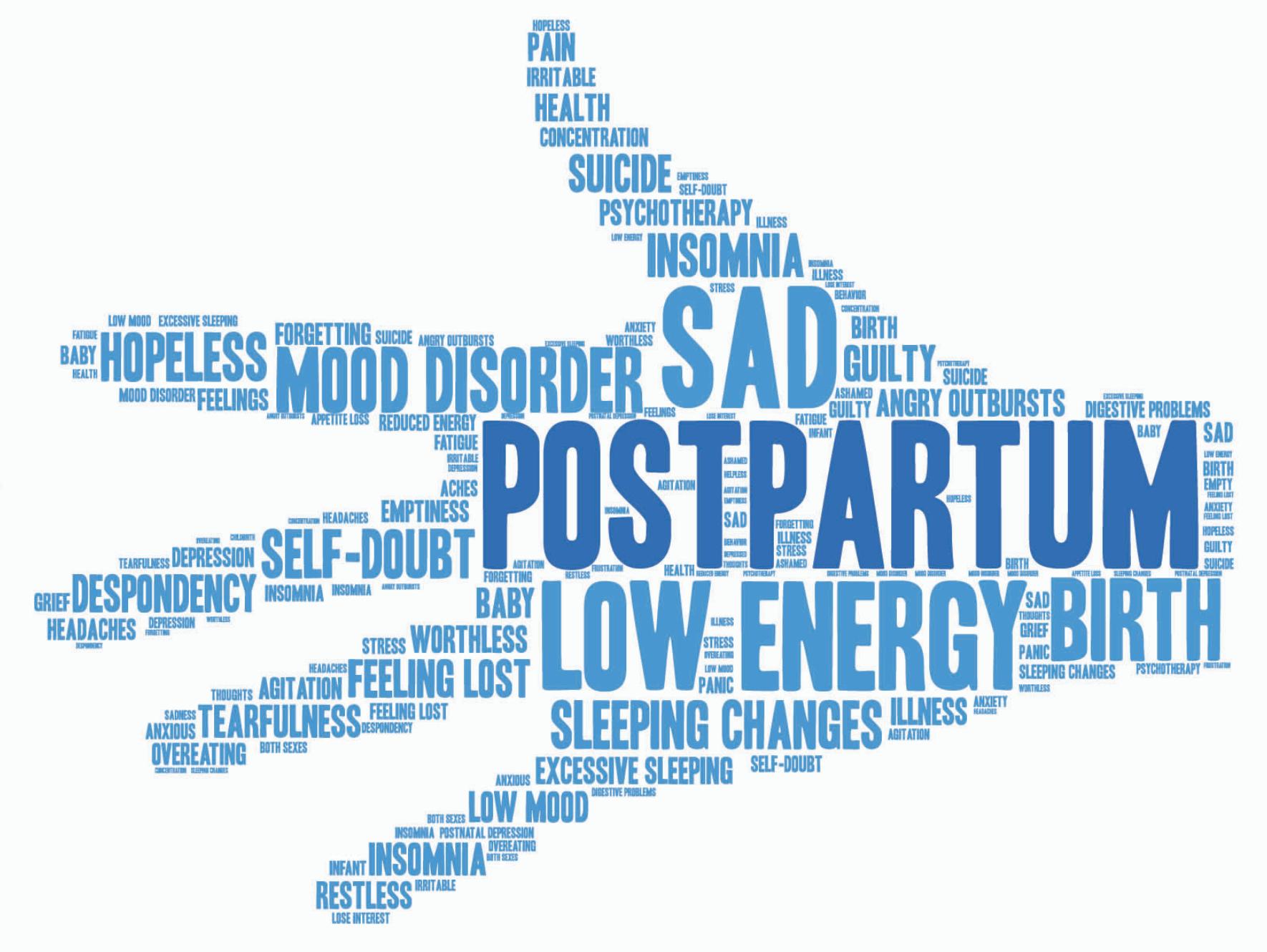 Ilustrasi Postpartum Depression
