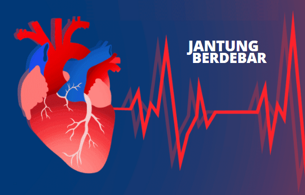beberapa penyebab jantung berdebar